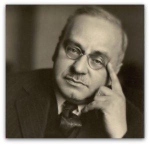 アドラー心理学の提唱者、アルフレッド・アドラーの写真